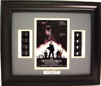 THE UNTOUCHABLES  FRAMED FILM CELL SEAN CONNERY