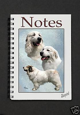 Pyrenean Mountain Dog Notebook / Notepad By Starprint - Auto combined postage