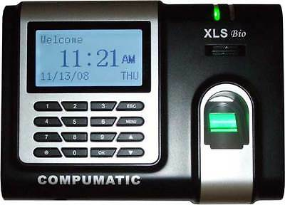 New Compumatic Xls Bio Fingerprint Time Clock Package