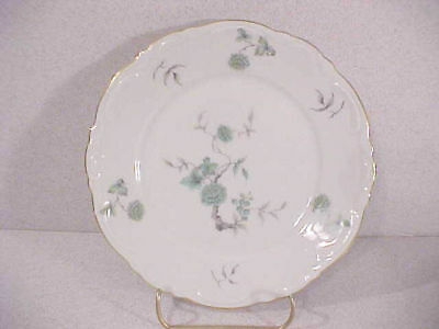 Mitterteich Green Ming Bread and Butter  Plate(s)