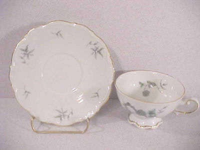 Mitterteich Green Ming Cup and Saucer Set(s)