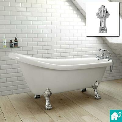 Slipper Traditional Freestanding Roll Top Bath Tub Br231