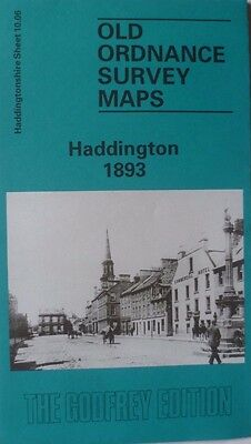 Old Ordnance Survey Map Scotland Haddington 1893 Sheet 10.06