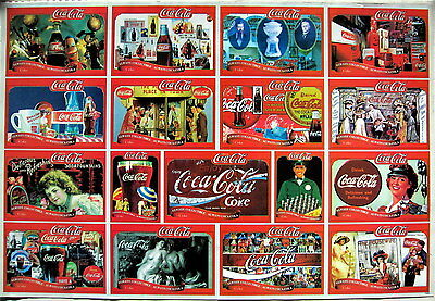 COCA COLA COLLAGE v.2:CLASSIC COKE ADVERTISEMENTS THROUGH THE YEARS,SODA POP ADS
