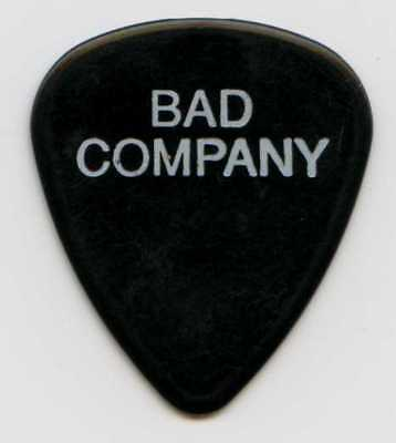 BAD COMPANY 1996 Concert Tour Guitar Pick!!! DAVE COLWELL custom stage Pick