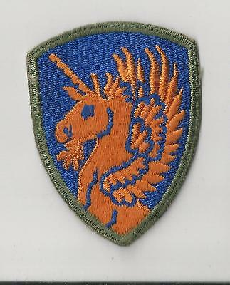 US ARMY PATCH - 13TH AIRBORNE  DIVISION - NO TAB - ORIGINAL WWII ERA