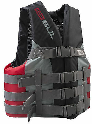 Gul 50N Buoyancy Aid Impact Life Jetski Water Ski  Jacket Red Junior