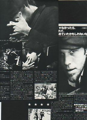 1977 Tom Waits in JAPAN 3pg 6 photo mag article / clippings cuttings / rare