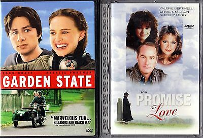 Garden State & The Promise Of Love - 2 DVDs - Like New