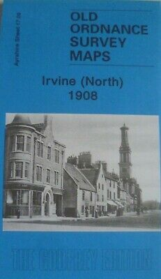 Old Ordnance Survey  Detailed Maps Irvine North Scotland  1908 Sheet 17.09