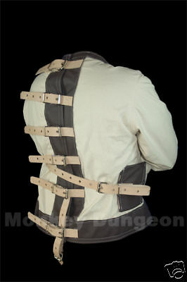 Classic Houdini straight  jacket w/ leather Gimmicked