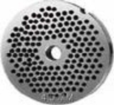 """#8 S/S Meat Grinder Plate 4.5mm .........( 3/16"""" Hole )"""