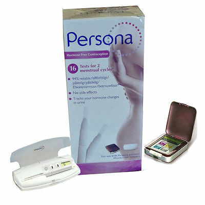 16 Persona Monitor Contraception Ovulation Test Sticks (2 Complete Cycles)