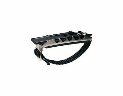 JIM DUNLOP Professional Capo Curved Strap Style *NEW* For Steel String Guitar