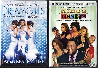 Dreamgirls - Full Frame & King's Ransom -WS 2 NEW DVDs