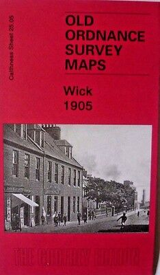 OLD ORDNANCE SURVEY MAP Scotland  Wick 1905 Sheet 25.05