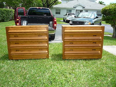 Pair Romweber 50's Mid Century Modern Bachelor Chests