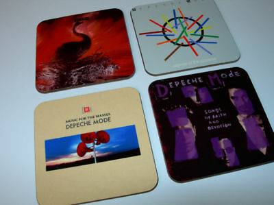 Depeche Mode Album Cover COASTER Set