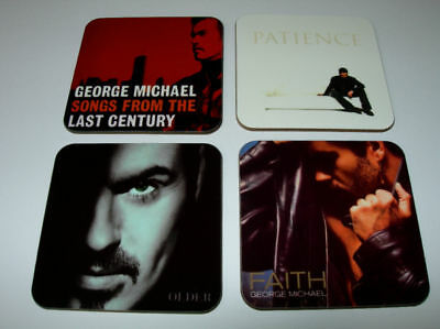 George Michael Album Cover COASTER Set