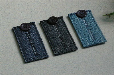 3 Jean Pants Extender Waist Expander Button for both Men & Women