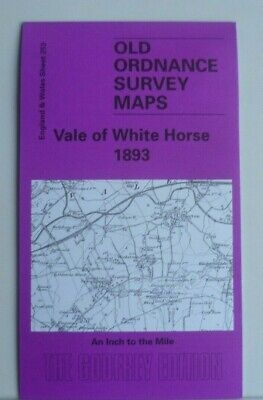 Old Ordnance Survey Maps Abingdon Didcot Wantage Area & Plan Faringdon 1893 S253