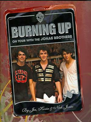 Jonas Brothers - Book - Burning Up On Tour - Brand New