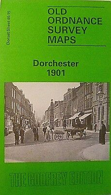 Old Ordnance Survey Detailed Maps Dorchester Dorset 1901 Godfrey Edition New