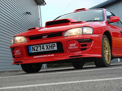 SUBARU IMPREZA FOG, SPOT LAMP COVERS 1992-1998  STi / WRX. ABS. HT Autos UK.