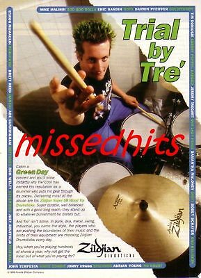 Green Day(Tre Cool)-1999 magazine advert