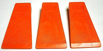 """5 1/2"""" Falling / Felling & Bucking / Chainsaw Milling Wedges (3-Pack)   H59TS(3)"""