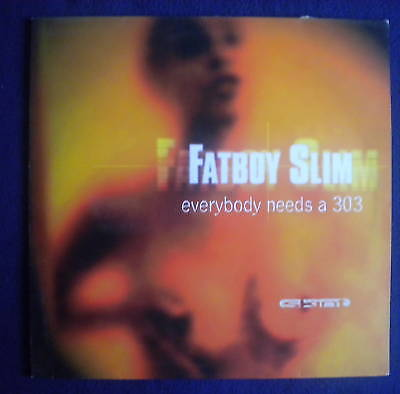 "Fatboy Slim Everybody Needs A 303 12"" Skint 1997"