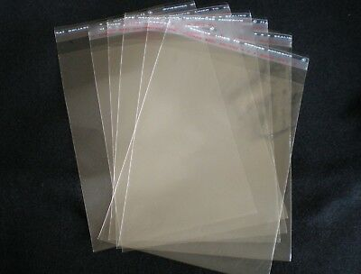100 Bags 70 x 100mm ReSealable Cellol Clear Cello BAGS Packaging Food Safe