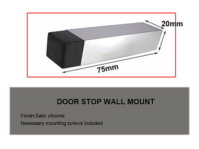Door Stop Specialist!!!! door stop wall mount-Satin-1975