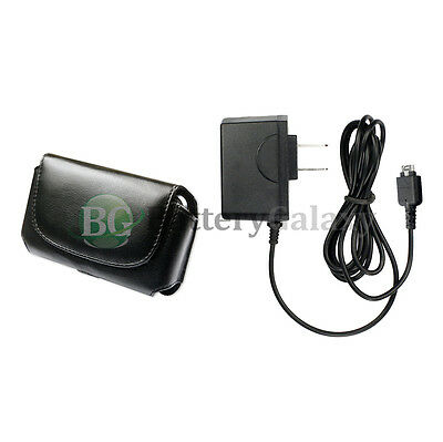 Battery Wall Charger Cell Phone +Case for LG vx9900 enV
