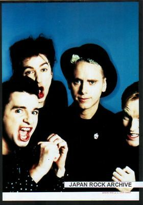 1989 Depeche Mode JAPAN mag photo pinup / mini poster / clipping cutting