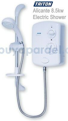 Triton T80Si T80i Replace 8.5Kw White Electric Shower