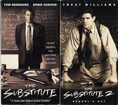 The Substitute (VHS, 1996) & The Substitute 2 - 2 VHS