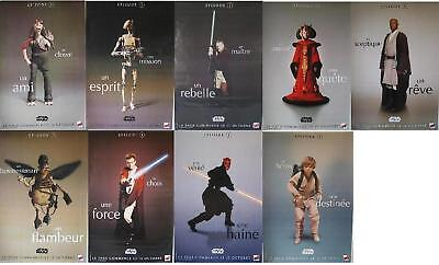 STAR WARS Ep.1- 1999 George Lucas set of 9 French 47x63