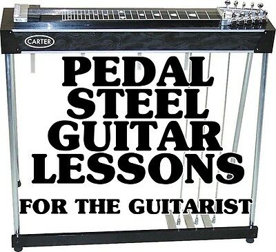 Pedal Steel Guitar Lessons E9 For Guitar Players DVD