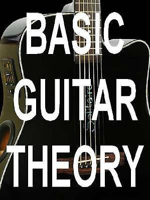Basic Guitar Theory Lessons DVD Beginners Learn Finally. This Will Unlock It All
