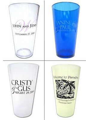 125 16oz Personalized Graduation Party Pub Glass Favors