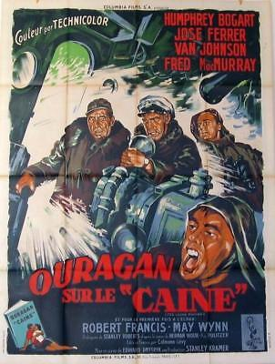 THE CAINE MUTINY 1954 HUMPHEY BOGART 47x63