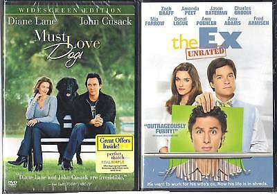 Must Love Dogs (PG-13) & The Ex (Unrated) 2 NEW DVDs