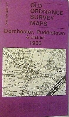 Old Ordnance Survey Maps Dorchester Puddletown & District 1903 Sheet 328 New