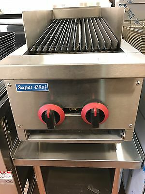 """New! Radiant Char Broiler Gas Grill 14"""""""