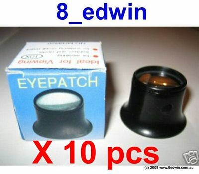 10 Units of Eyepatch - eye wearing magnifie - brand new