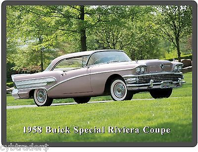 Ref. # 28542 Factory Photo 1958 Buick Model 46C Special Convertible Coupe