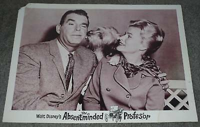 THE ABSENT-MINDED PROFESSOR 11x14 SKYE TERRIER original 1961 DISNEY lobby card