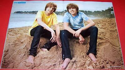 Dylan & Cole Sprouse - Barefoot - Shirtless - Teen Magazine Poster Pinup Boy