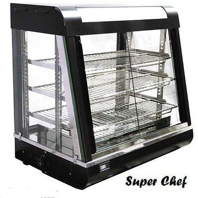 New! Heated Food  Display Warmer Cabinet Case 2 FT